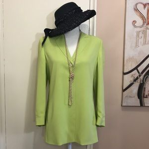 Dana Buckman Petite Silk Jacket